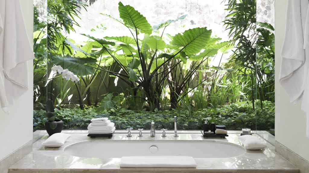 Suite Badezimmer - REVIVO Wellness Resort - Premium Wellness Retreat auf Bali mit ReiseSPA