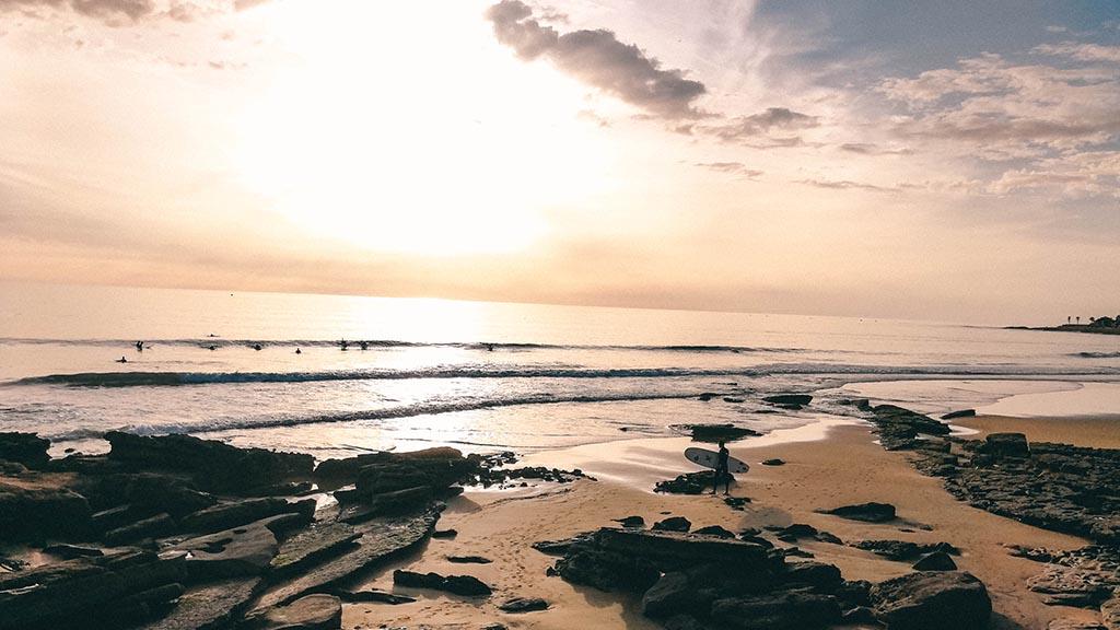 Taghazout - Paradis Plage Sonnenuntergang- ReiseSpa Premium Wellness Retreats