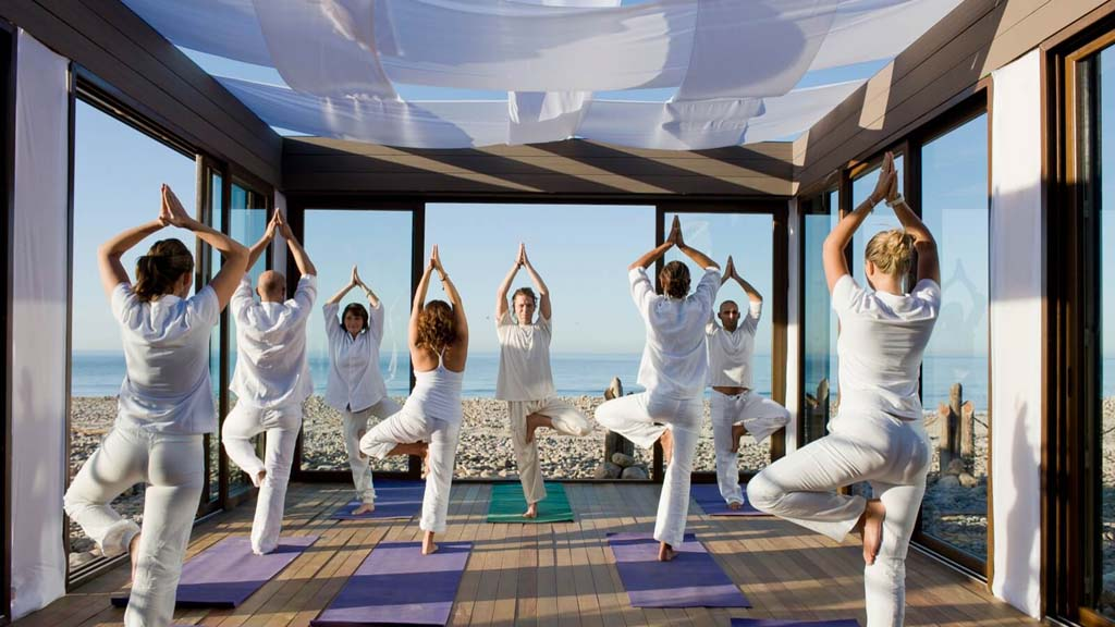 Yoga im Paradis Plage Resort Marokko- ReiseSpa Premium Wellness Retreats